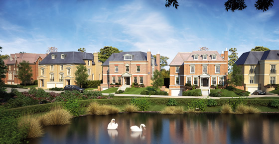 Octagon's latest development of 13 period style family homes in Esher – St George's Place and Wootton Place. The eight semi-detached townhouses and five detached houses are off Esher Park Avenue and will include air source heat pumps for eco-friendly heating and hot water and efficient under floor heating throughout. Savills' Esher office is selling the houses from £2.75 million to £4.5 million. Telephone Savills 01372 461900 www.savills.co.uk www.octagon.co.uk