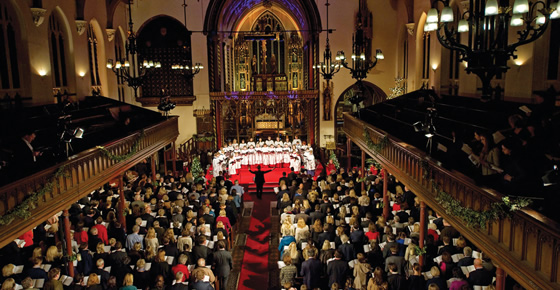 Christmas Carol Concert at the beautiful St  Paul's Church, Knightsbridge