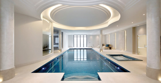 Pool at Crossacres by Octagon