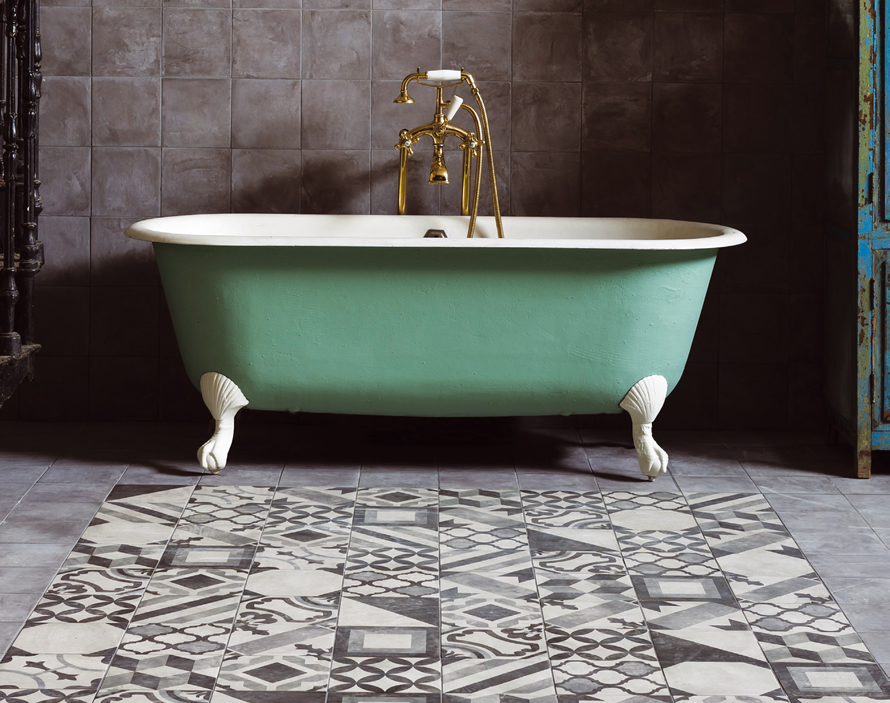 Casablanca is a decorative tile range from Mandarin Stone.